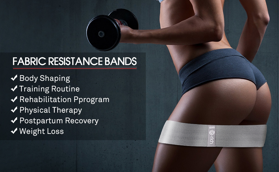 booty bands hip circle resistance loop bands fabric resistance bands glute bands hip loop bands