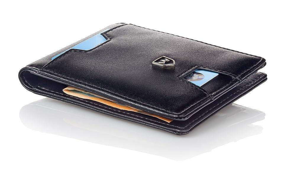 Premium Geldbörse mit Geldklammer
