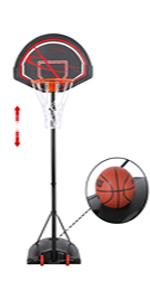 7-9ft Height-Adjustable Basketball Hoops amp; Goals