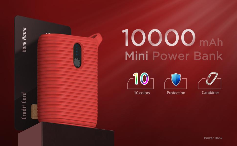 mini power bank 10000mah