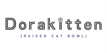 Dorakitten raised cat bowl