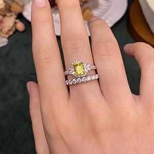 wedding Eternity Band Ring for women