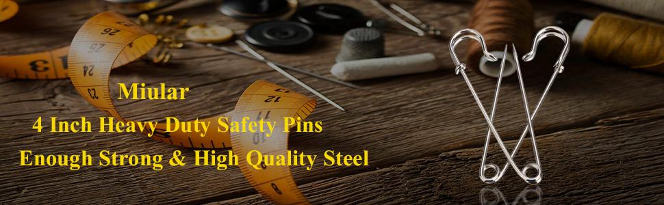 heavy duty safety pins