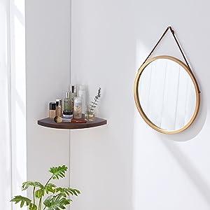 Wall Shelves for Bathroom Corner