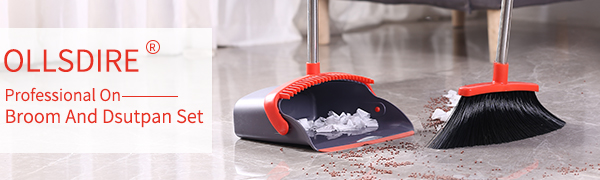 2021 New Design Broom and Dustpan Set With Long Handle