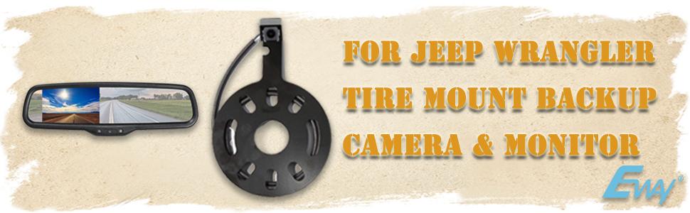 mirror monitor for cars,Jeep Wranger backup camera