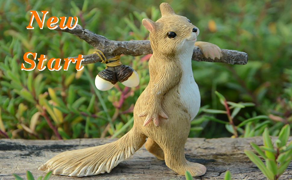New Life Squirrel