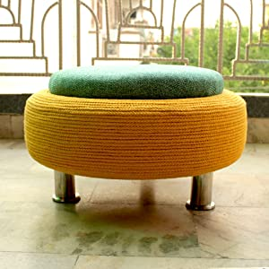 ottomans and pouffe