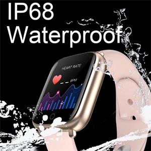 IP68 Waterproof and Dustproof Smart watch