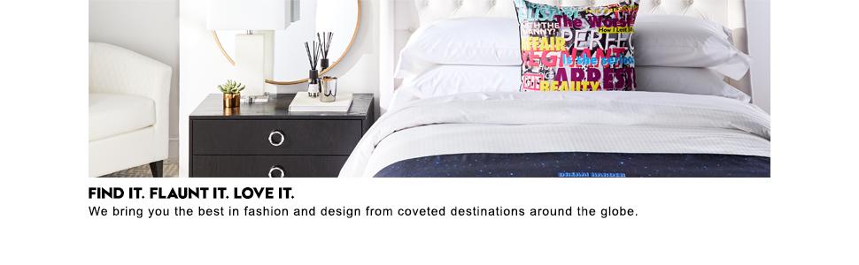 Find It Flaunt It Love IT Decorative Pillow Throw W Hotels