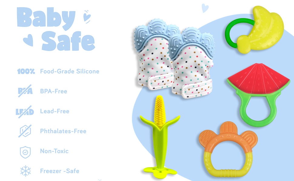 baby teething toy teether mittens baby toy baby gift