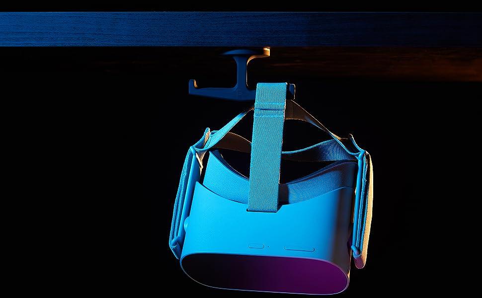 trident hanging VR headset