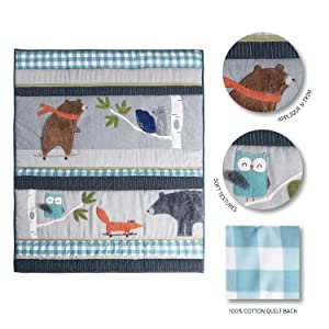 Play Day quilt features