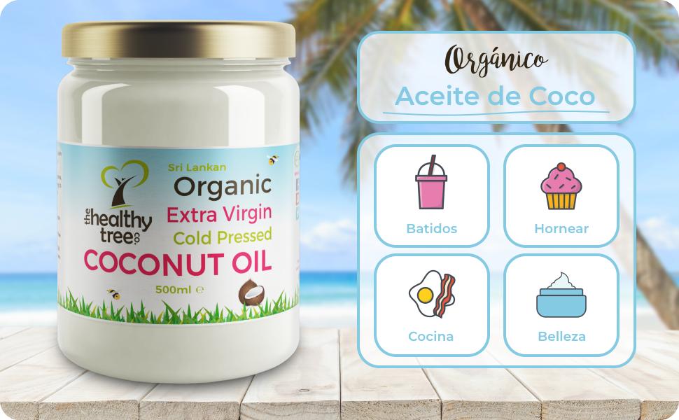 Aceite de Coco Virgen Extra Orgánico