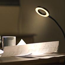 lampara 40 leds escritorio luz lectura nocturna 3 modos brillo ajustable con pinza recargable usb