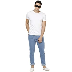Jeans offer;Blue jeans;Men jeans latest stylish;Men jeans washed;Men's jean stylish new;Jean men new