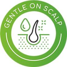 Gentle on Scalp