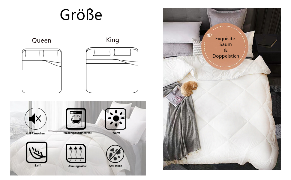 washable bed cover comforter for sleeping
