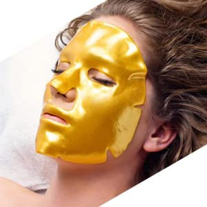 gold face facial sheet mask