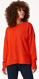 all day comfortable sweater electric blue for women