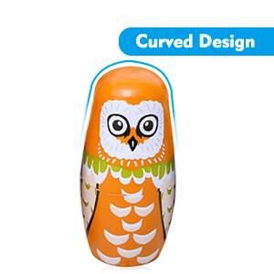 Curved Design,Easy to Grasp