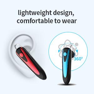 lightweight design, comfortable to wear