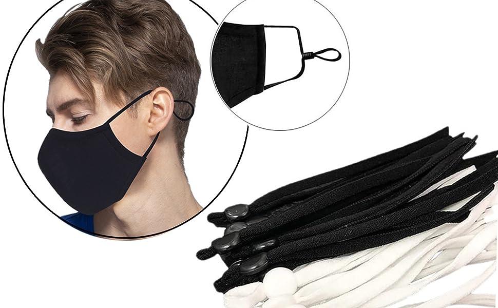 Amazon Com Sewing Elastic Ear Strap Rope Elastic Band Elastic