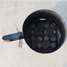 Charcoal Chimney Starter BBQ Grill Quick Start Lighter Burner Charcoal Starters