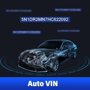 Autel ML629 OBDII Scanner ABS, SRS Scan Tool Engine Analyzer Auto VIN Feature