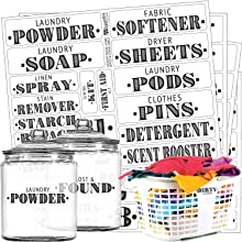 Laundry Room, Linens amp; Home Office Label Set