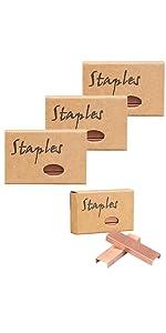 rose gold staples