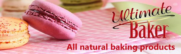 ultimate baker cake decorating, baking, food coloring, luster dust, ingredients