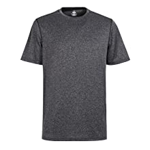 Big and Tall Tee Outdoor Mens Dry Fit Mositure Wicking Athletic Sport T Shirt