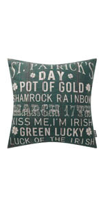 Trendin St. Patrick Pillow Cover