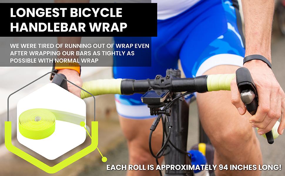 Road Bike Handlebar Bandage Tape Bicycle Bar Wraps Fixed Gear Bike Non-slip jin
