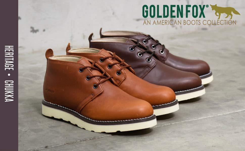 Golden Fox Steel Toe Work Boot