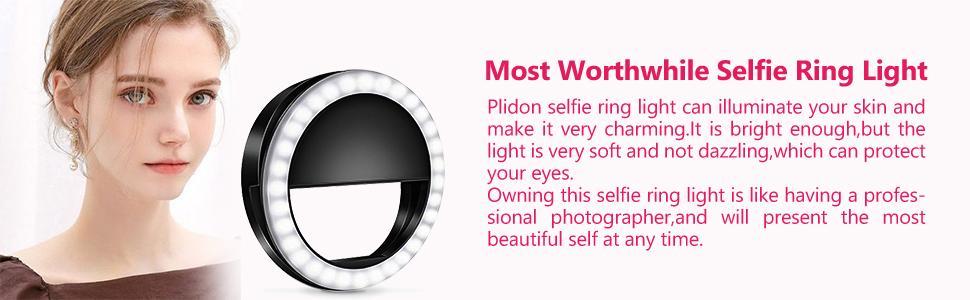 selfie light ring for iphone