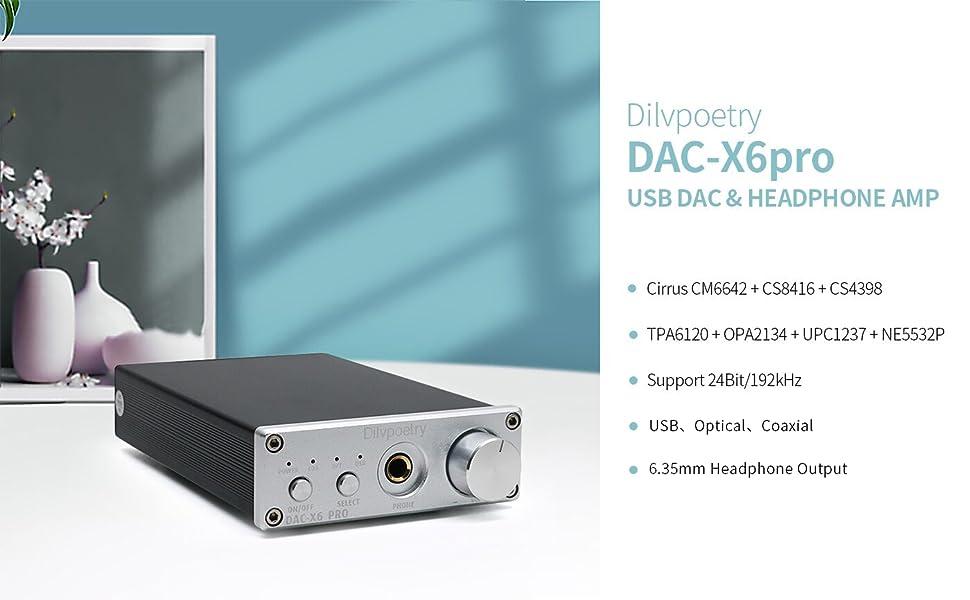 DAC Headphone Amplifier usb dac desktop dac optical dac coaxial dac home audio amplifier mini dac
