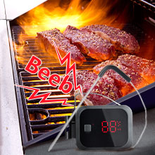 termometro per barbecue digitale