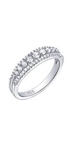 wuziwen jewellery wedding engagement necklace for women 925 sterling silver cubic zirconia cz gift