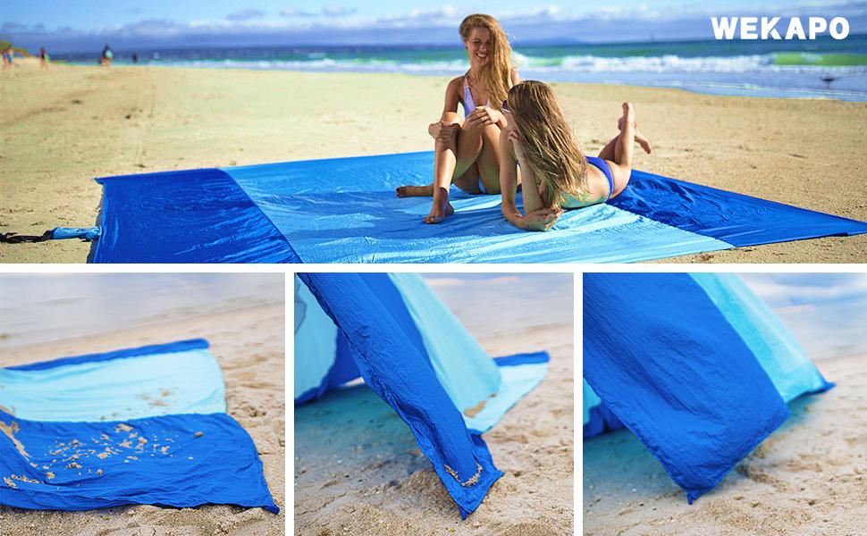 wekapo beach blanket sand
