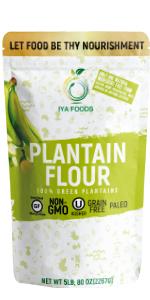 Plantain flour Comparison