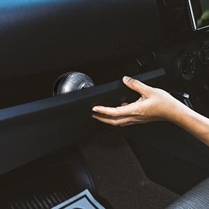 Almacenamiento en el vehículo