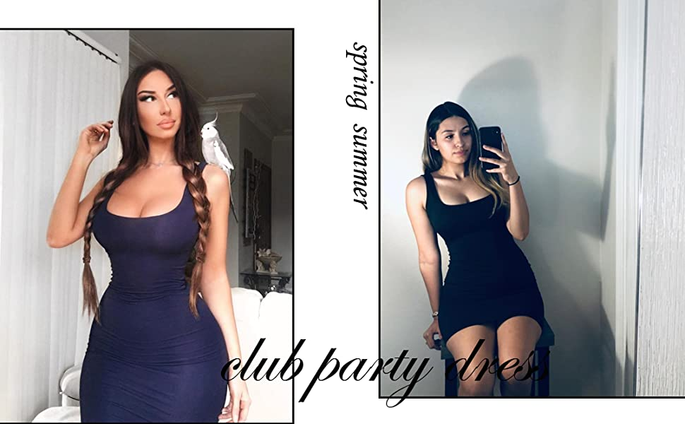 sexy tank dress
