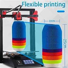 Imprimante pliable 3 grand volume imprimable