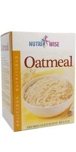 Oatmeal breakfast high protein low calorie medical grade weight loss doctor healthy