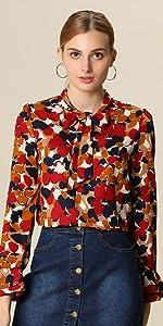 Retro Floral Shirt
