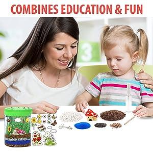 science kits for kids, toys age 6 8 children, girls gifts gift ideas girls, kit terrarium
