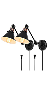 plug in wall sconces