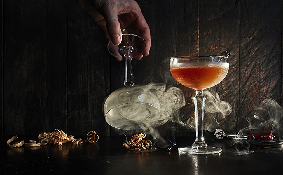 cocktail smoking gun